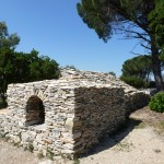 Impluvium restauré à Caveirac ; Photo C. Hugeux