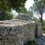 Capitelle restaurée à Caveirac ; photo C. Hugeux