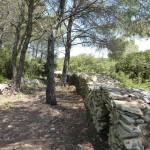Mur enclos ; photo C. Hugeux