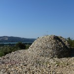 Vue sur le Rhône, Aramon ; photo C. Hugeux